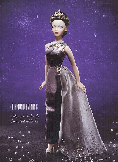 sewing pattern for Gene Marshall doll by Ashton Drake Platinum /& Diamonds