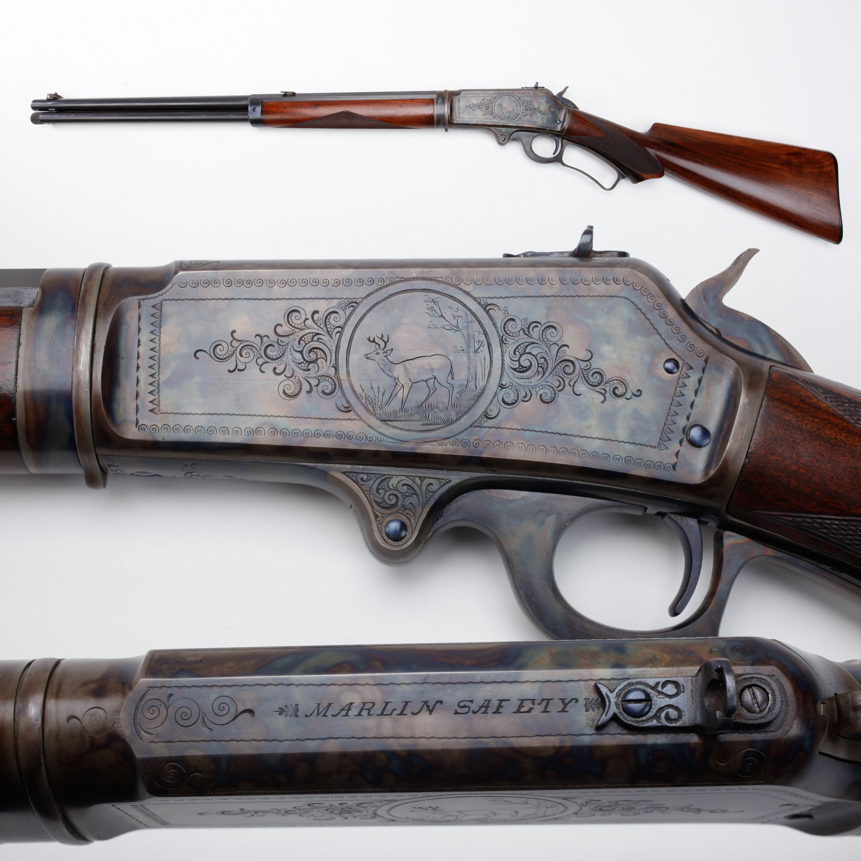 Marlin M1893 Rifle - Marlin offered the 1893 in the standard