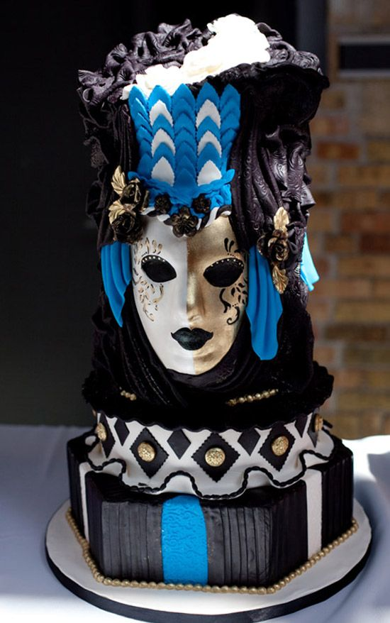 masquerade wedding cake whimsical wedding cakes that will knock your socks 17225