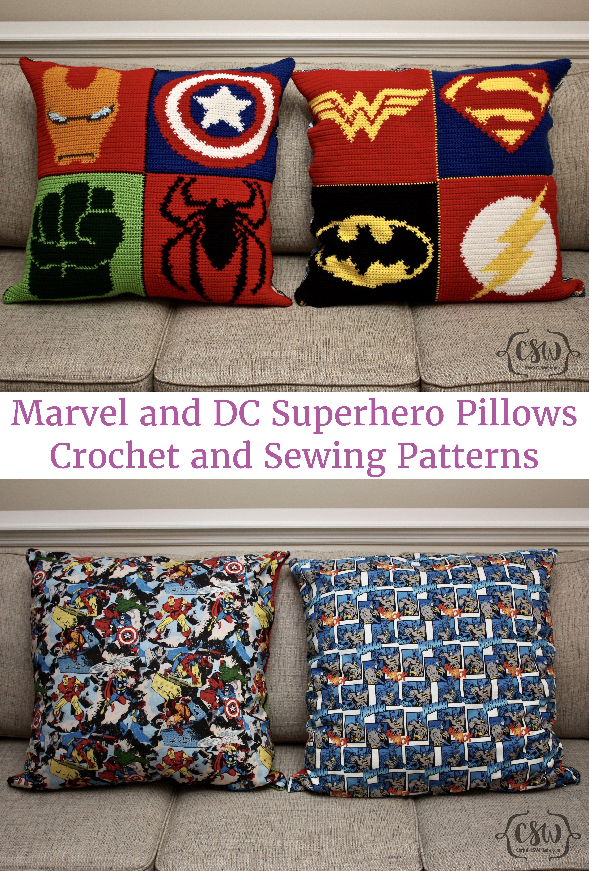 Marvel Superhero Pillow | Hulk spiderman, Super man and Spiderman