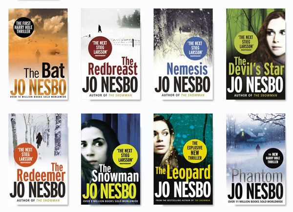 Working my way through these - prev. pinner:  The ongoing Inspector Harry Hole Series by Jo Nesbo - great gritty mysteries- love