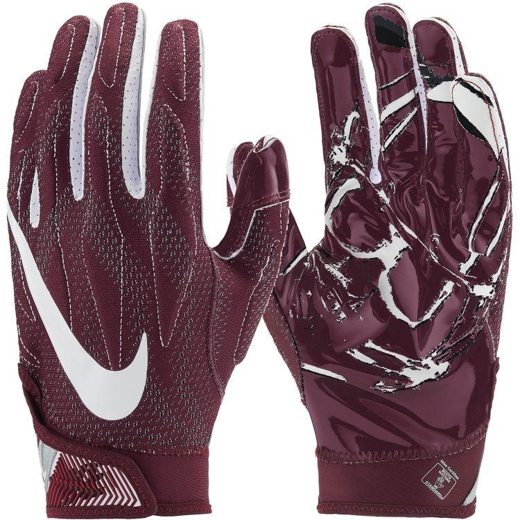 6d99a6df4af Nike Superbad 4.0 Receiver Gloves (Dark Maroon   White)
