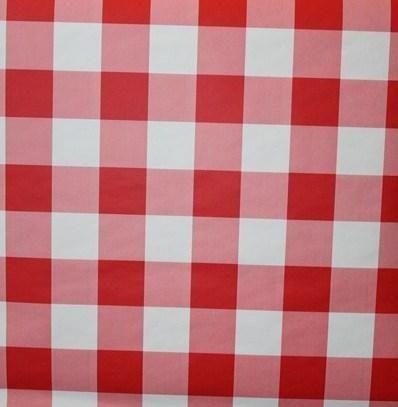 rood wit geblokte vans