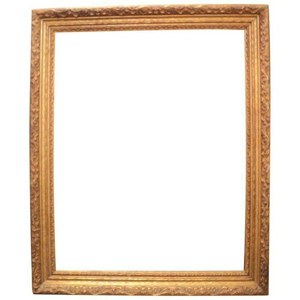 Antique Gold Wooden Picture Frame ($50) ❤ liked on Polyvore ...