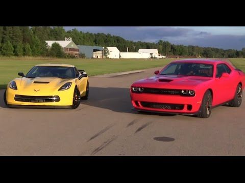 Dodge Challenger Hellcat Vs Chevrolet Corvette Stingray Dragtimes Drag Racing Fast Cars Muscle Blog