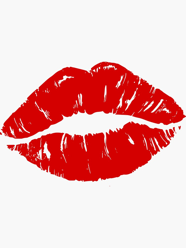 Red Lips Lipstick Kiss Sticker By Caratco Redbubble In 2020 Kiss Tattoos Lip Print Tattoos Red Lips Tattoo 640 x 480 jpeg 121 кб. red lips lipstick kiss sticker by