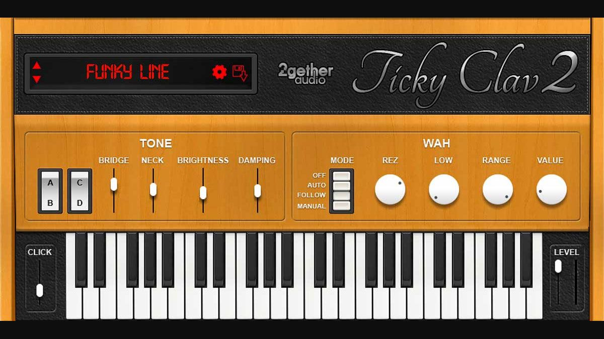 Ticky Clav 2 Is A Free Clavinet Emulation Instrument Plugin By