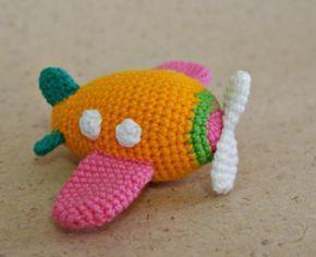 Amigurumi Minion Tarifi : Amigurumi uçak tarifi amigurumi pinterest amigurumi and crochet