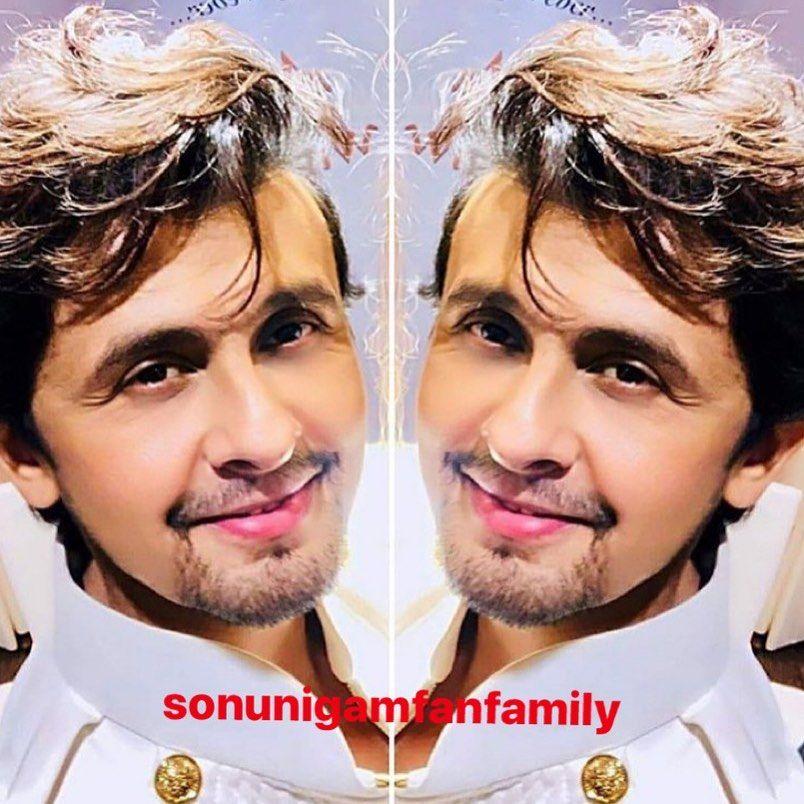 297 Likes 6 Comments Sonu Nigam Fan Family Sonunigamfanfamily On Instagram Tarrif Karun Kya Uski Jisne Apko Banaya Hair Styles Lord Rama Images Hair
