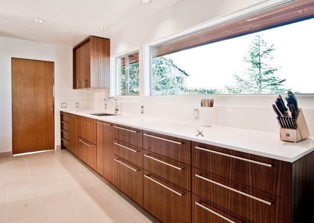 Mid Century Modern Kitchen Cabinets Square Kitchen Island White
