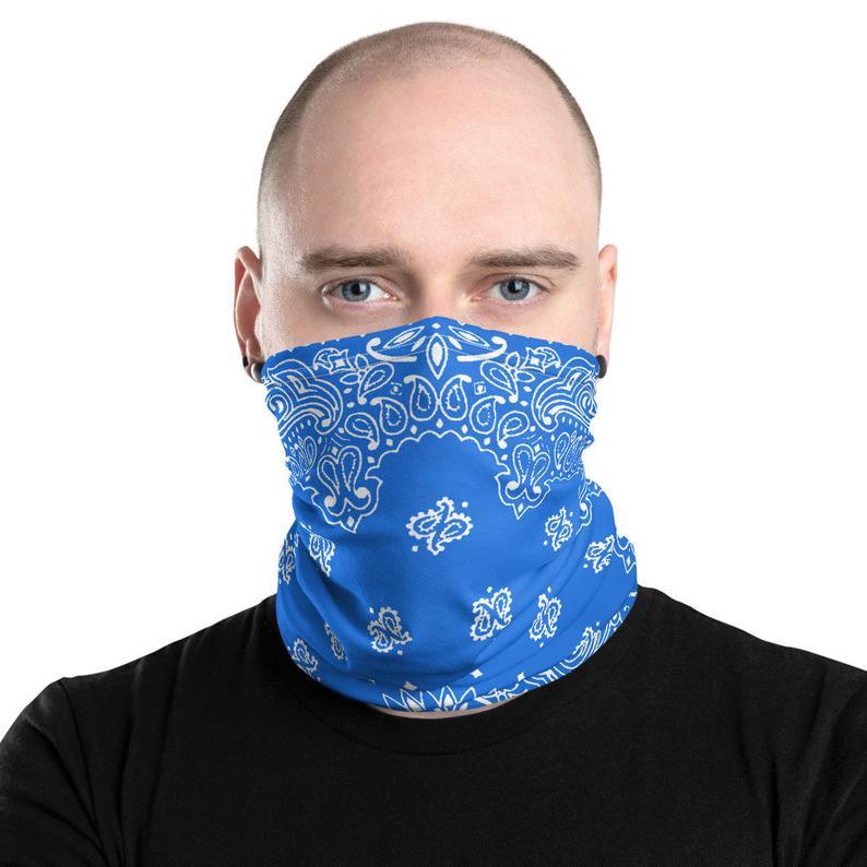 Cloth Face Masks Washable Bandana Face Mask Details about  /Neck Gaiter Face Mask Reusable