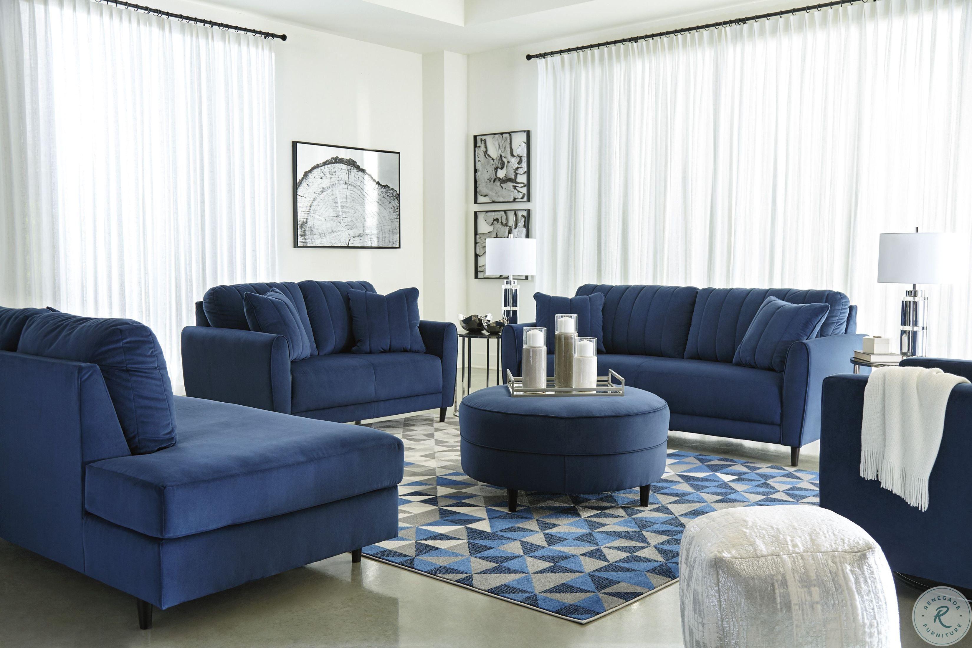 Darcy Blue Living Room Set Blue Sofas Living Room Blue Living Room Sets Blue Living Room Decor