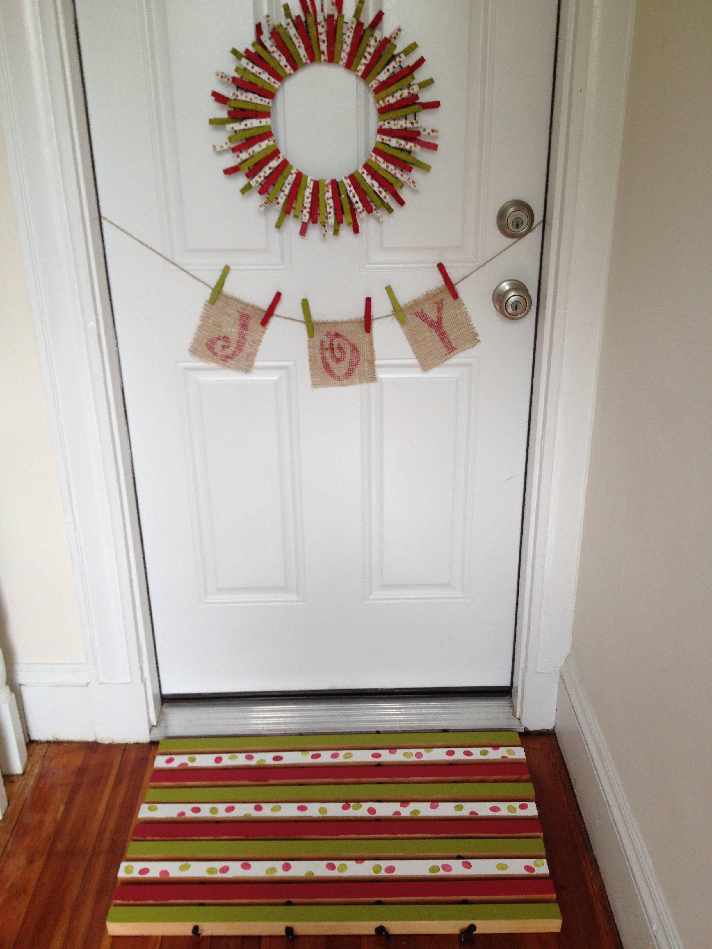 Holiday Door Mat: | The Home Depot Community