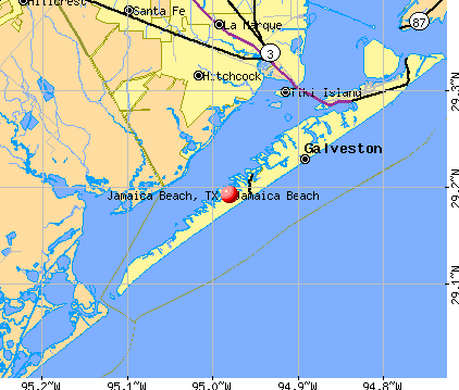 Galveston Map Of Texas.Jamaica Beach Tx Map Favorite Places Spaces Jamaica
