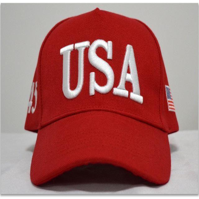 Baseball Cap Make America Great Again Hat Adjustable Snapback Cap Womens  Men Usa Hip Hop Caps 304b09a4e9