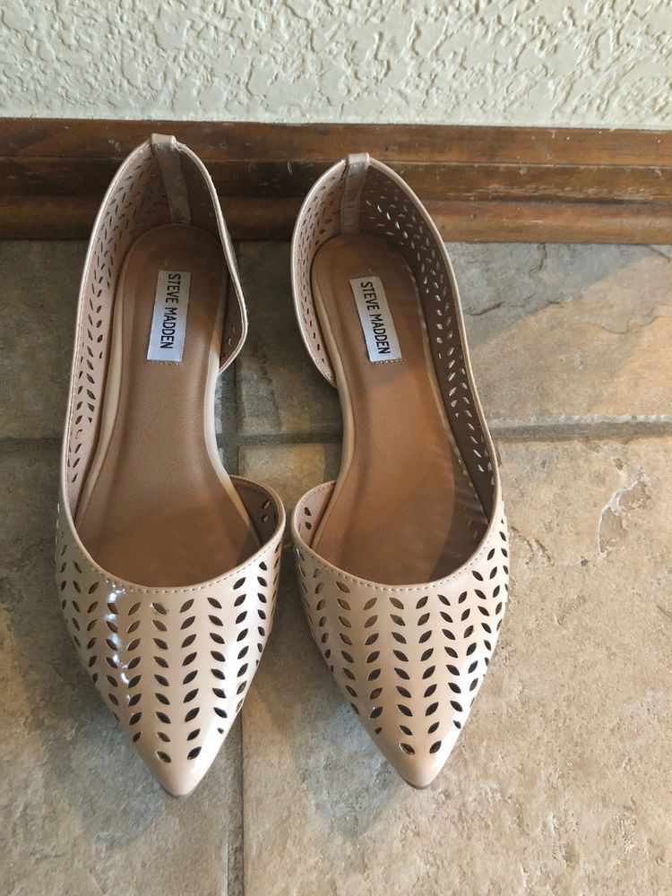 582aa2872b1 Steve Madden Womens Nude Laser Cut D'Orsay Shoes Size 10 #fashion ...