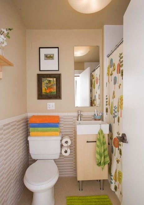 Essential Things For Small Bathroom Accessories Small Bathroom