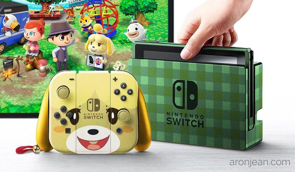 Fan Art Nintendo Switch Animal Crossing Bundle (Updated