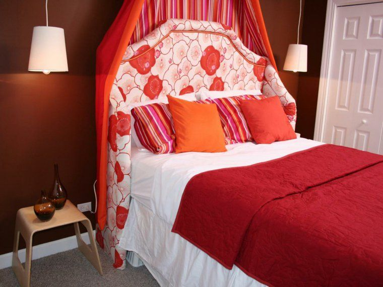 couleur rouge idee décoration chambre Teen Girl Bedrooms in 2018