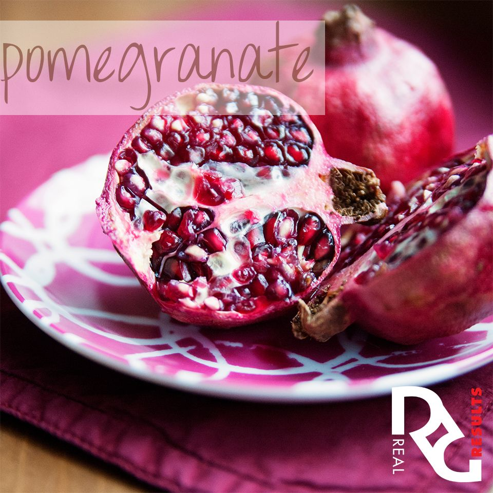 Real Results Inc Healthy Tips Pomegranate Food