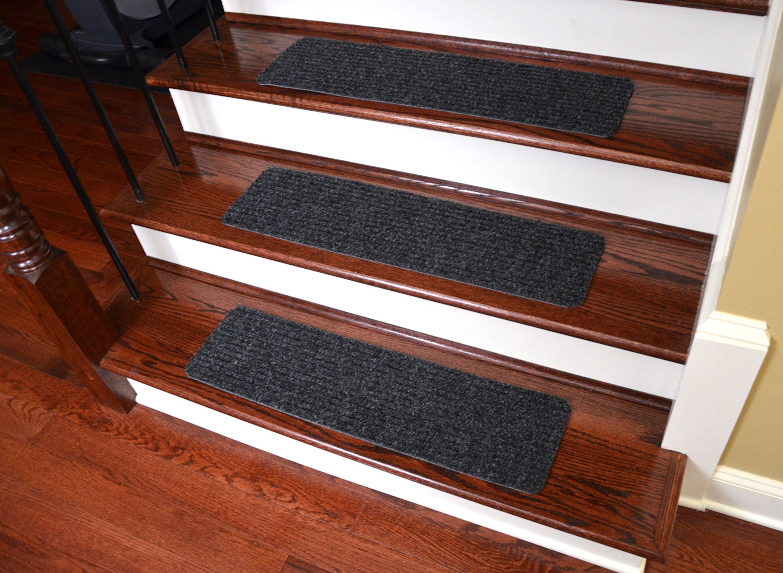 Best Dean Carpet Stair Treads Runners Mats Step Covers Dark 640 x 480