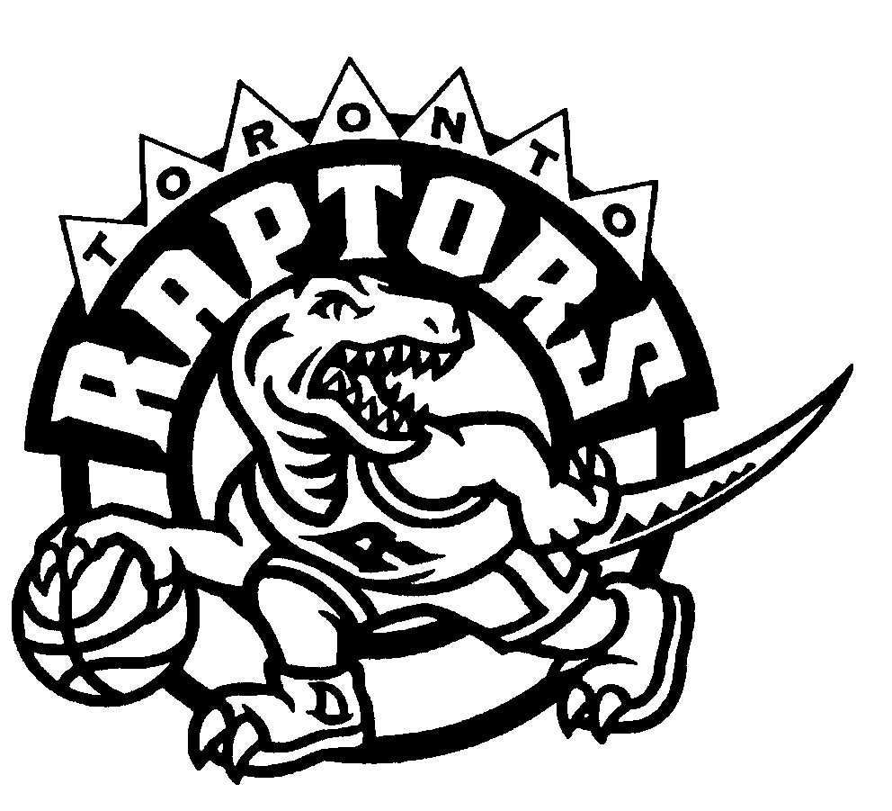 Nba Team Logo Coloring Pages Sports Coloring Pages Toronto