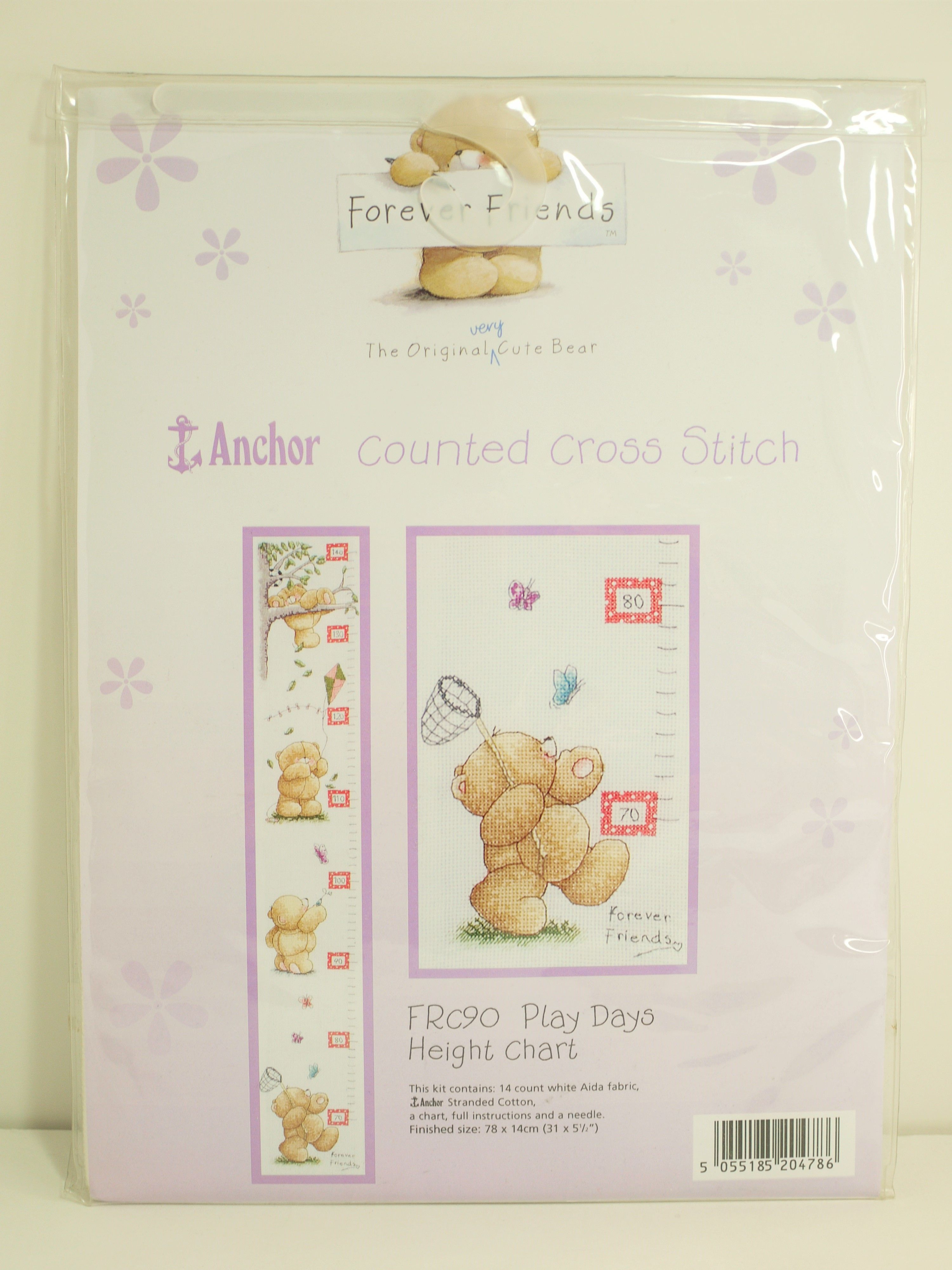 Anchor Forever Friends Frc90 Play Days Height Chart Growth Chart