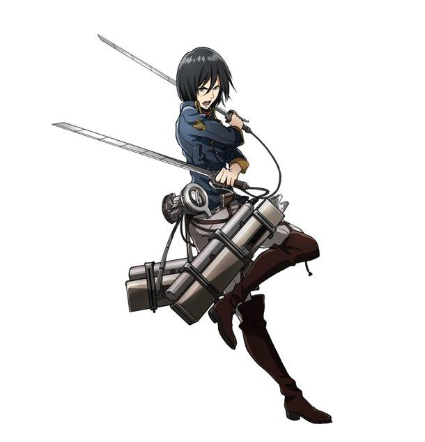 Anime Characters Fight Wiki : Crunchyroll mikasa and levi outfited with new uniforms
