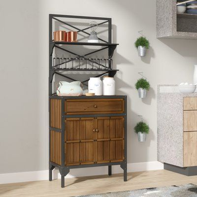 17 Stories Eastvale Baker S Rack With Images Bakers Rack