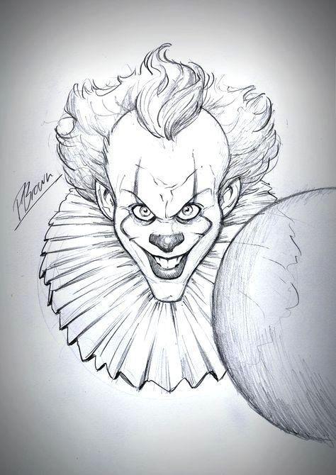 Epingle Par Francoise Morgane Sur Dessins Dessin Clown Dessin