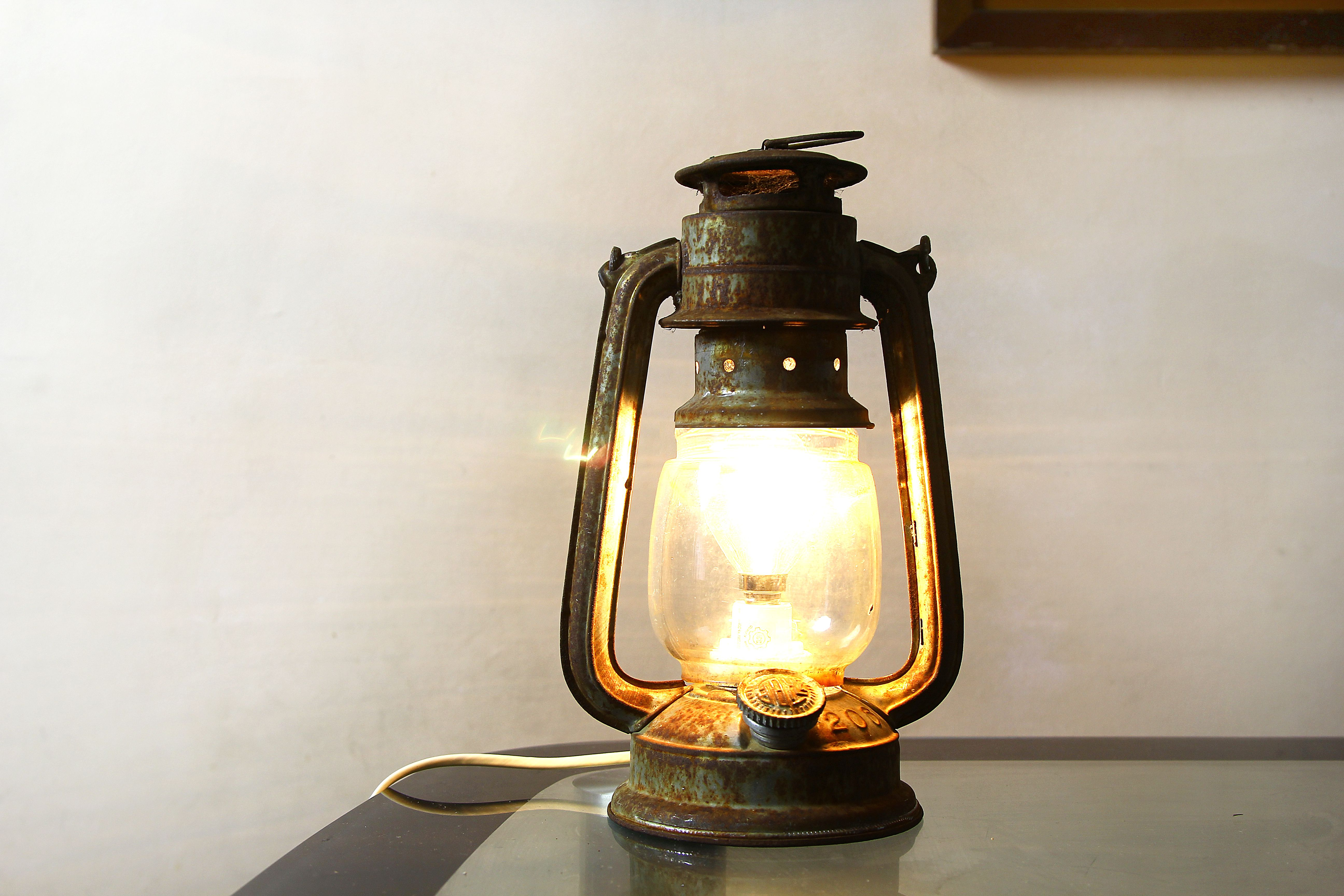 How To Convert An Oil Lantern Into Electric Via Wikihow