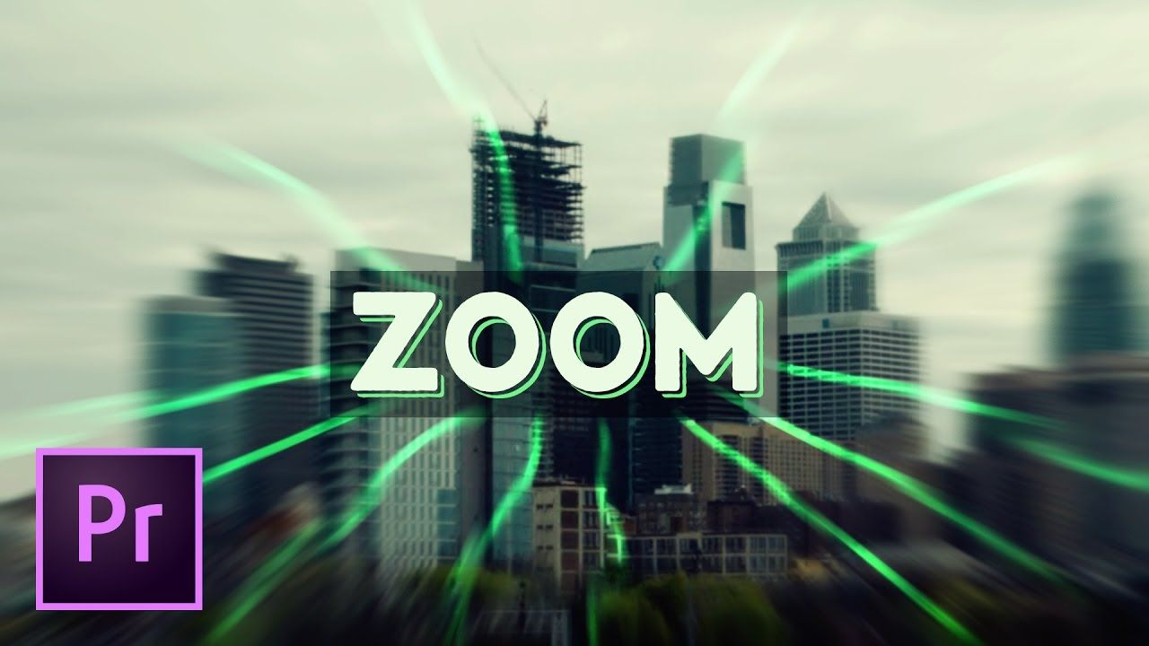 The Best Blurred Zooming Transition Effect - Premiere Pro