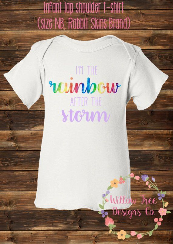 Rainbow Baby Shirt: Pin On Products