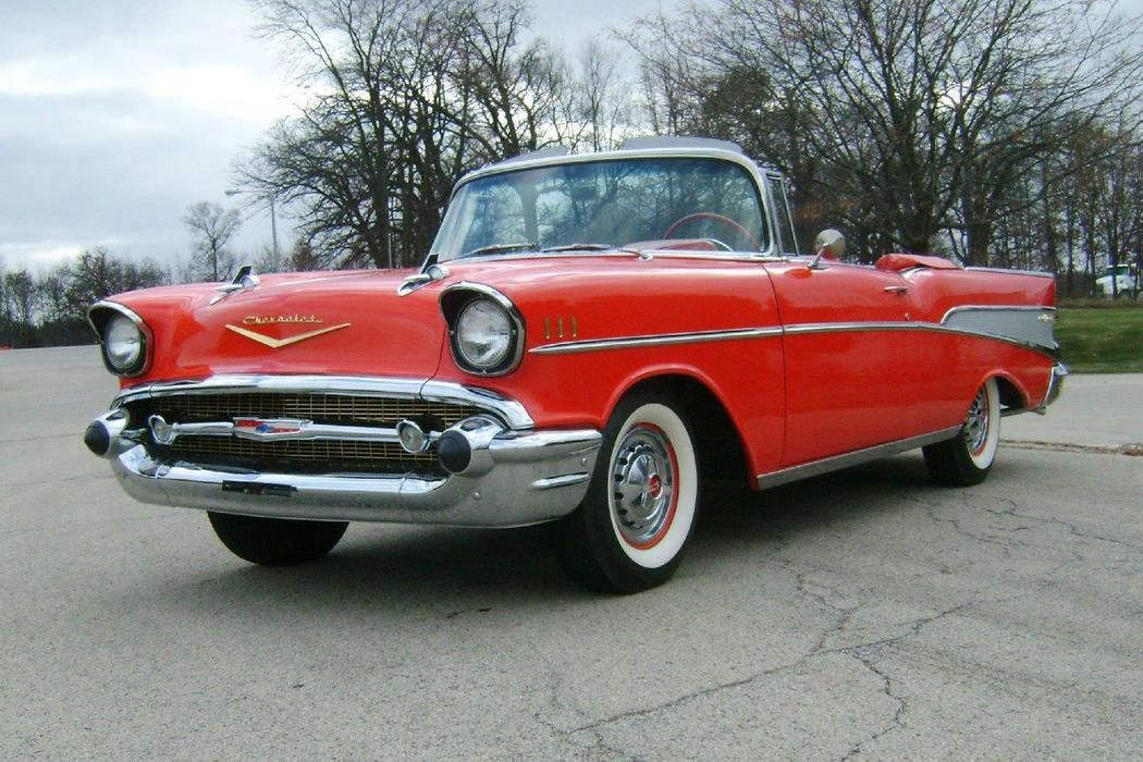 1957 Chevrolet Bel Air 4x2 Convertible Chevrolet Bel Air 1957 Chevrolet Classic Cars Chevy