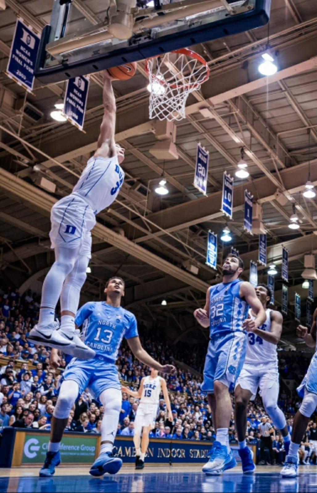 Slam Dunk Duke Blue Devils Basketball Grayson Allen Duke Basketball