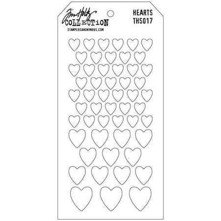4.125 by 8.5-Inch Stampers Anonymous Tim Holtz Layered Stencil Latticework