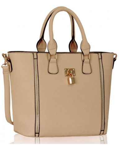 62d55a4ff9388 Torebka LS0031A Nude | gold forever | Bags, Fashion i Gold
