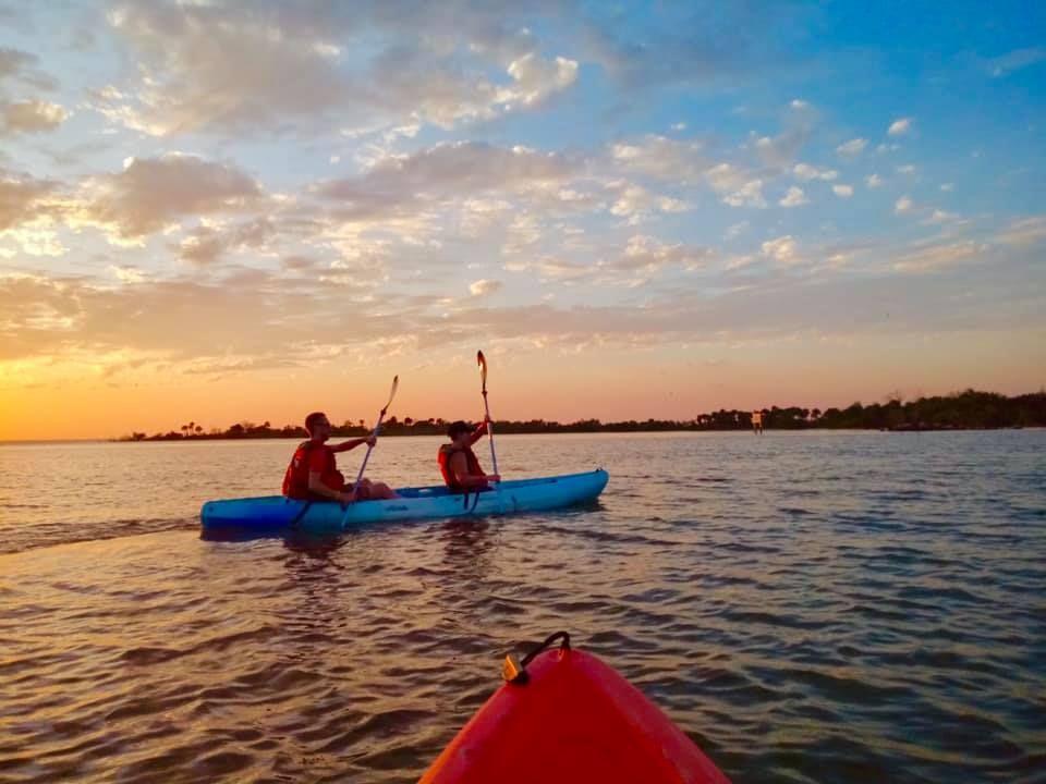 Sunset Kayaking with Bioluminescence Orlando / Space