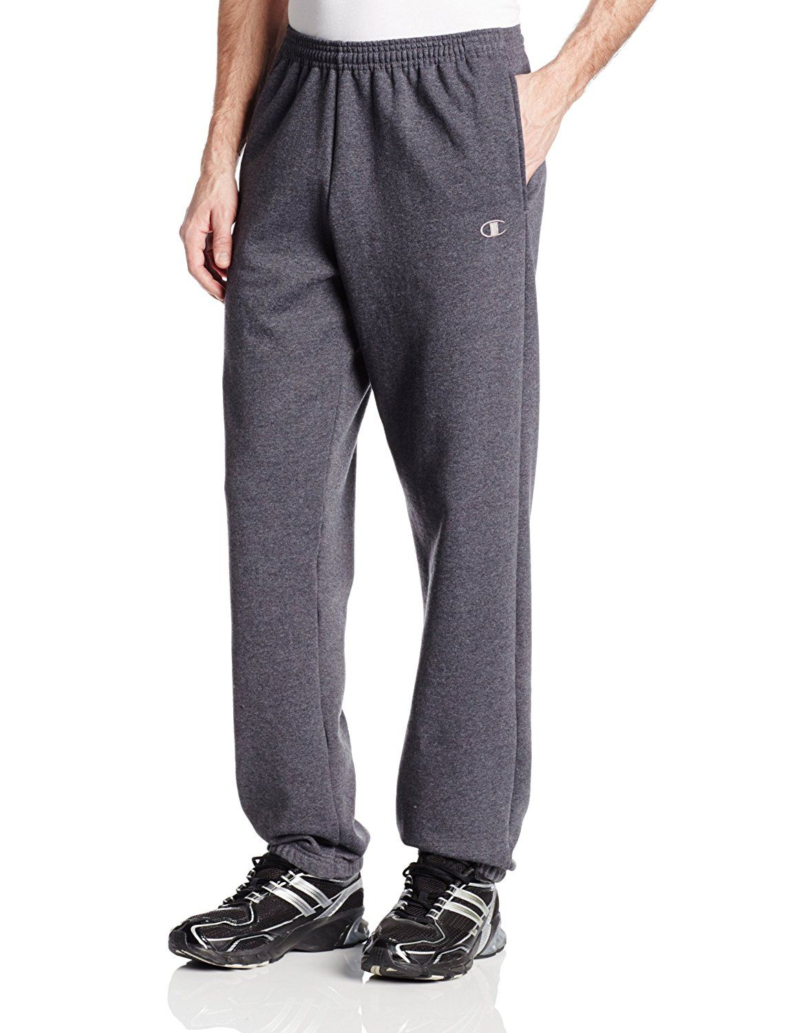 6f4fa46b54d9 Champion Men s Elastic Hem Eco Fleece Sweatpant at Amazon Men s Clothing  store  Athletic Pants