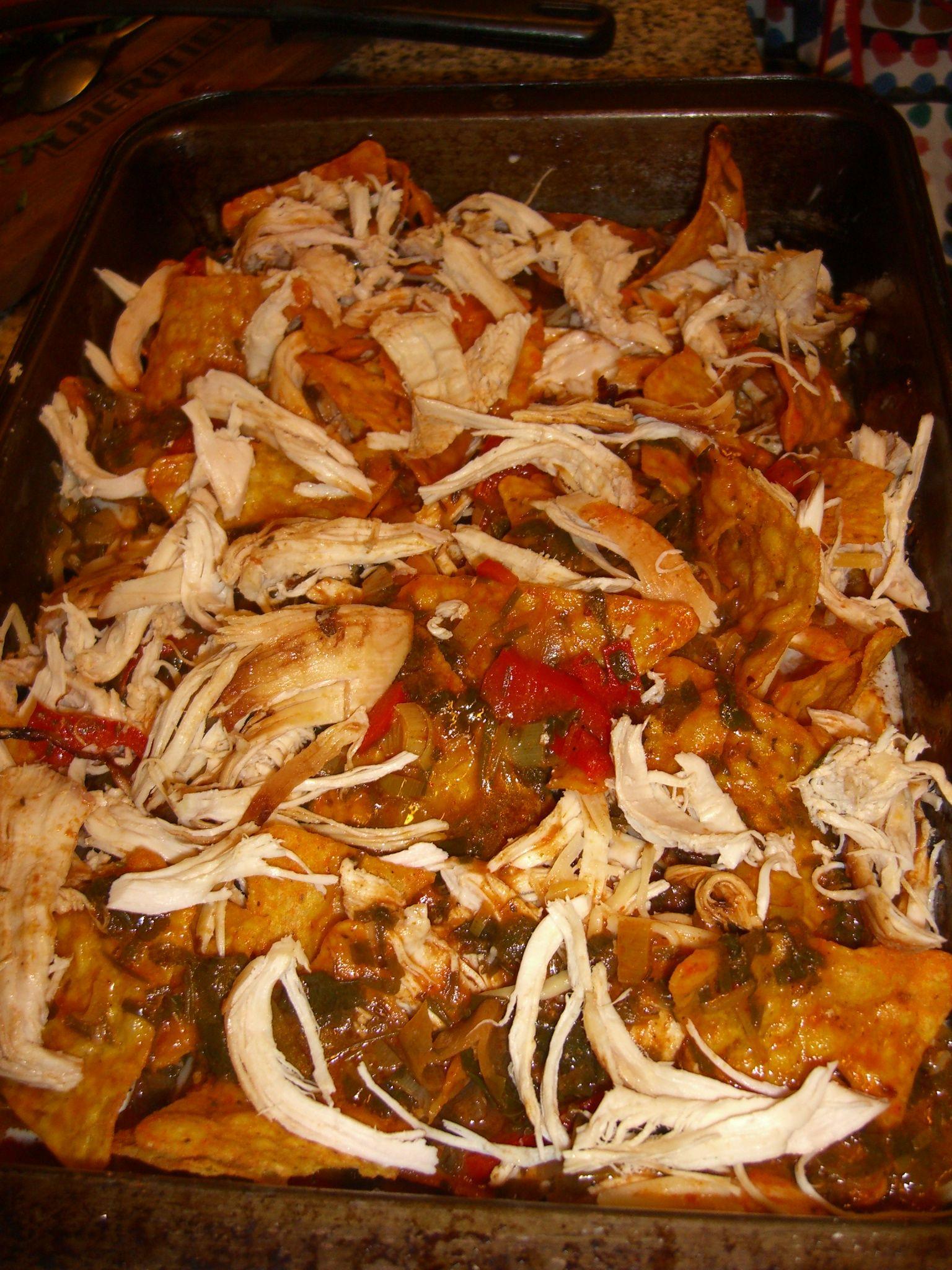 recetas de pollo desmenuzado