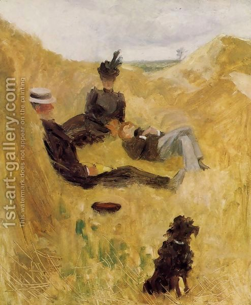 toulouse-lautrec's Party in the Country