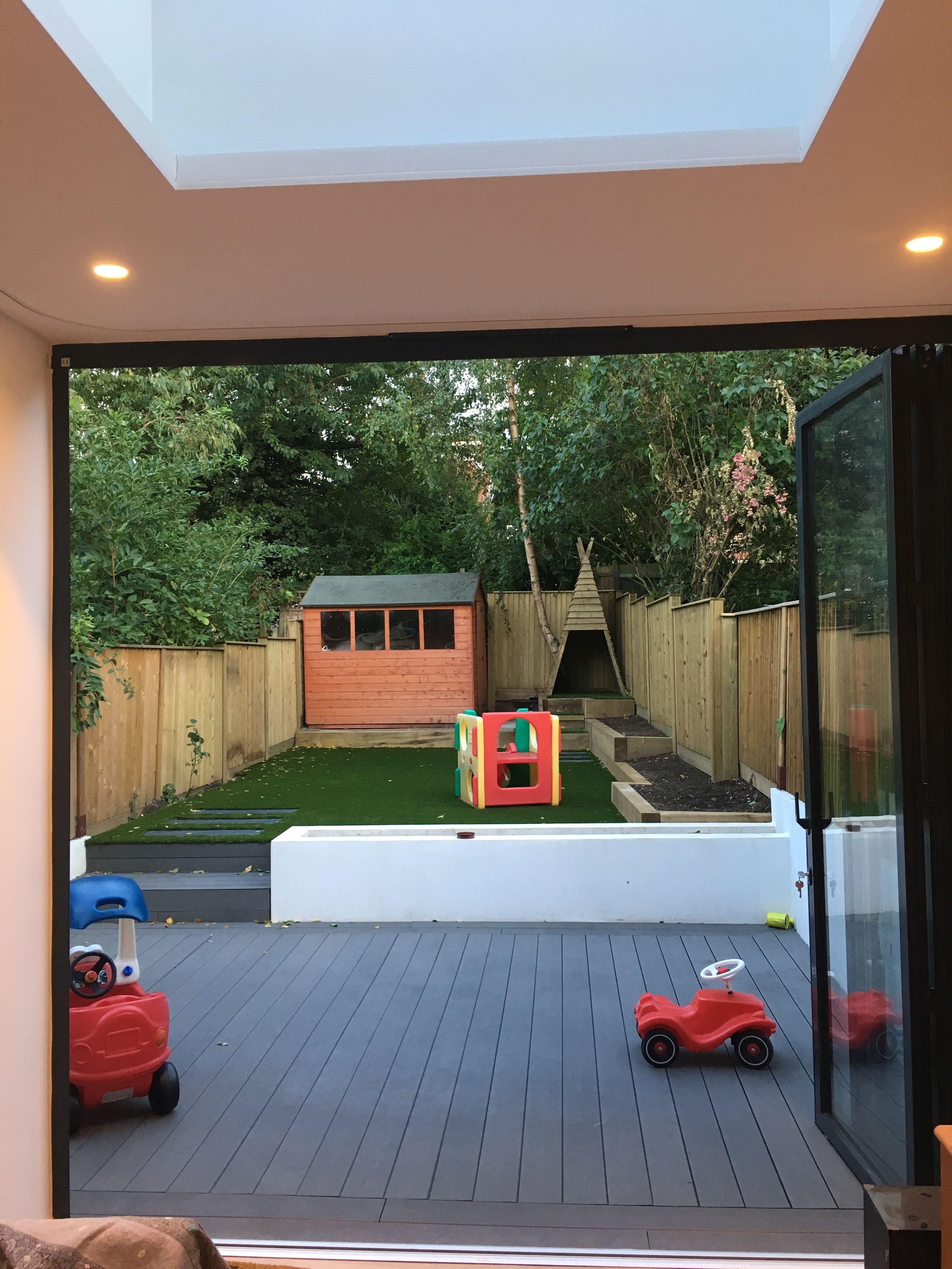 Child friendly garden, N8, London #small garden child ...