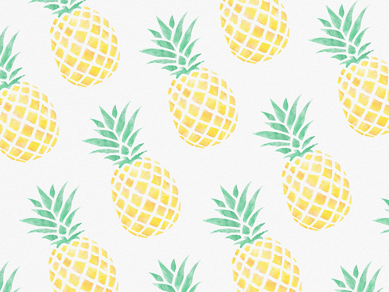 Pineapples Cartoon Pineapple Pineapple Wallpaper Fruit Wallpaper