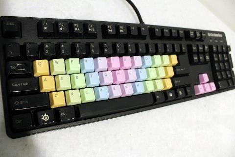 Rainbow Keycaps Rp  180 000,- | Mechanical Keycaps