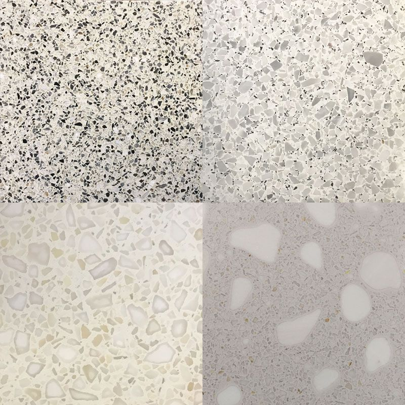 A Terrazzo Floor Consists Of 70 Chip Density The Design