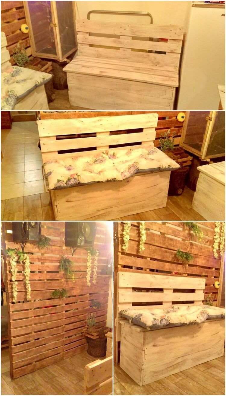 Creative DIY Projects with Wood Pallets, You Can Easily