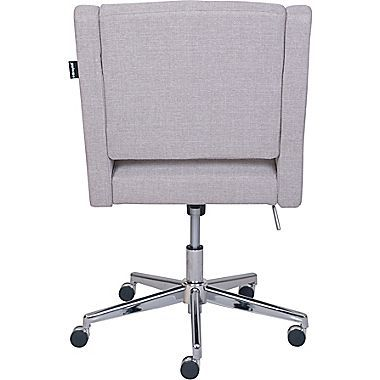 Broyhill Lynx Fabric Executive Office Chair Armless Oatmeal Color 46436 Executive Office Chairs Office Chair Chair