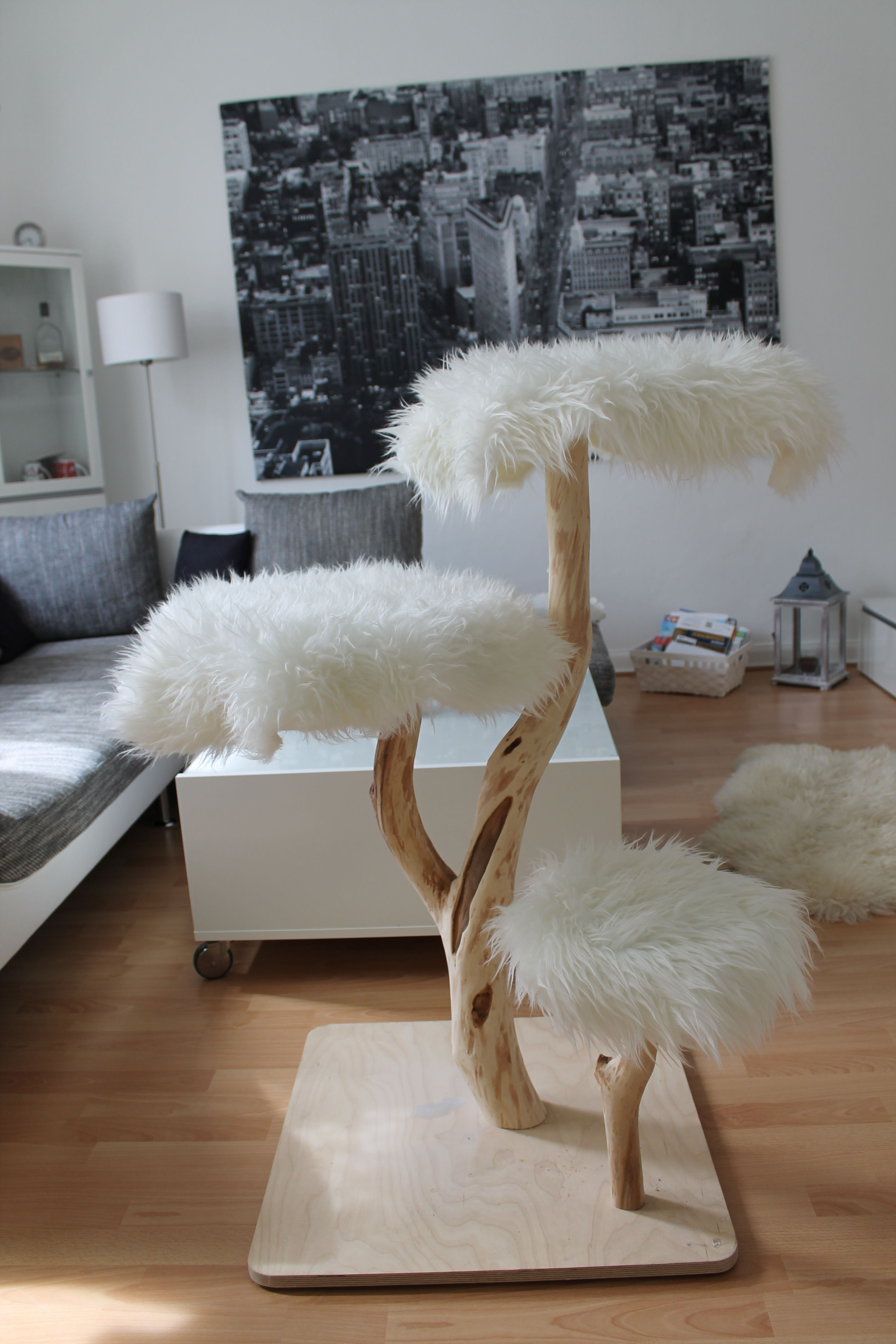 naturkratzbaum woodstyle classic | pets | pinterest | chats, animal