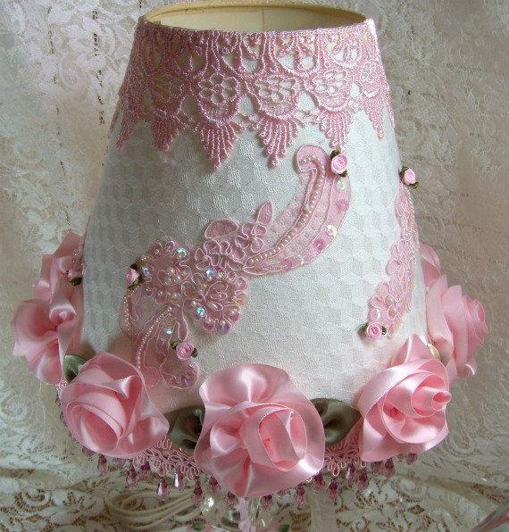 Lamp Victorian Inspired Large handmade by rosesandwhimsey