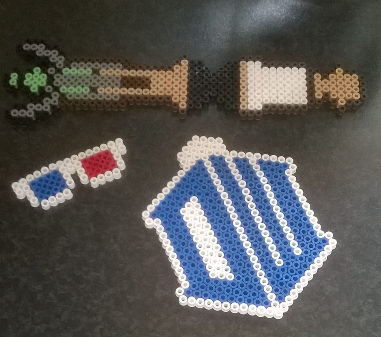 Doctor Who stuff perler beads by Perlerwonders
